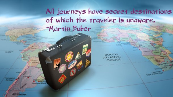Travel Thought -  Martin Buber