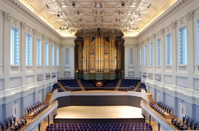 Inside Birmingham Town Hall