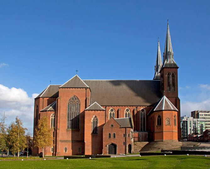 St Chad's Cathedral Birmingham