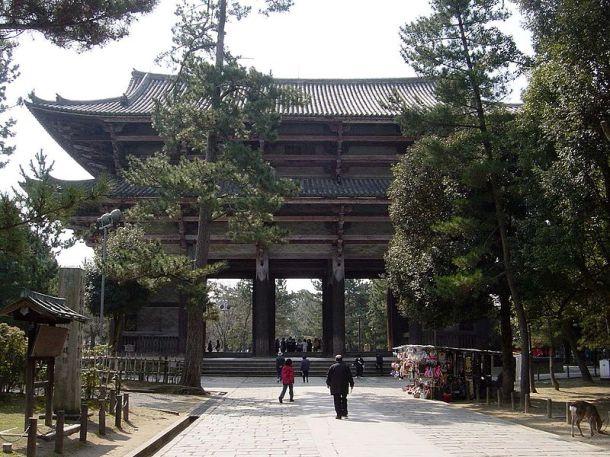 The Main Gate into Todaiji