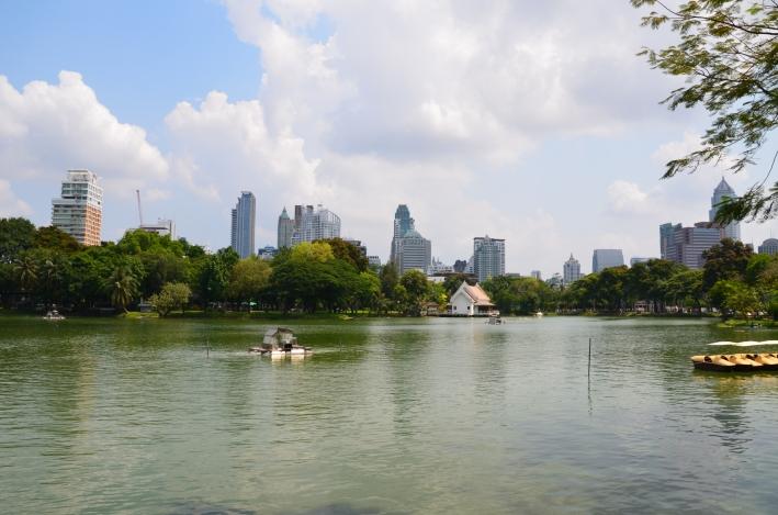 Boating in Lumphini Park