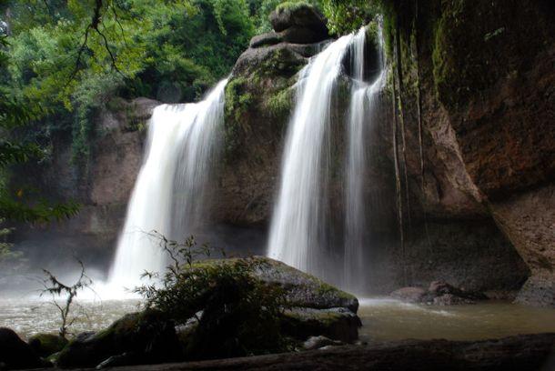 Haeo Suwat Waterfall Khao Yai National Park Thailand | Image Resource : wikipedia.org