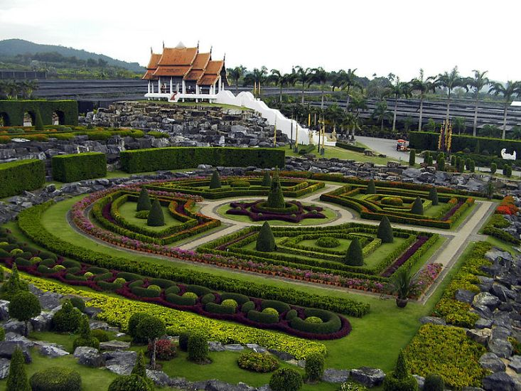 Nong Nooch Tropical Botanical Garden Thailand