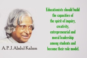 Motivational thought of the day – A.P.J. Abdul Kalam