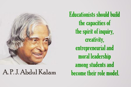 Motivational Thought by A.P.J. Abdul Kalam