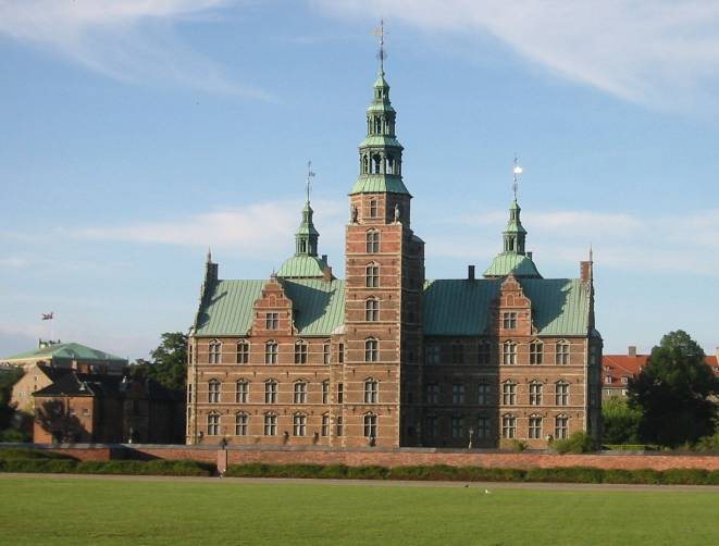 Rosenborg Castle seen from the Castle Gardens