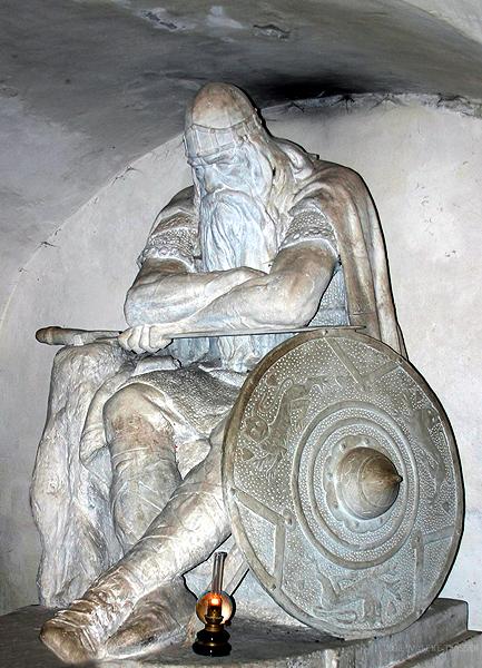 Statue of Holger in Kronborg castle