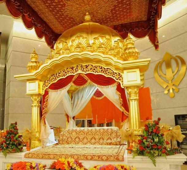Inside Gurunanak Darbar Sikh Temple Dubai