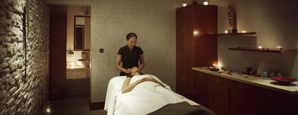 spa and massage center | Image Resource : raffles.com