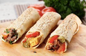 Yummy food of Dubai : Shawarma Dish